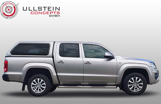 Hardtop VW Amarok Green-Top Glasklappen