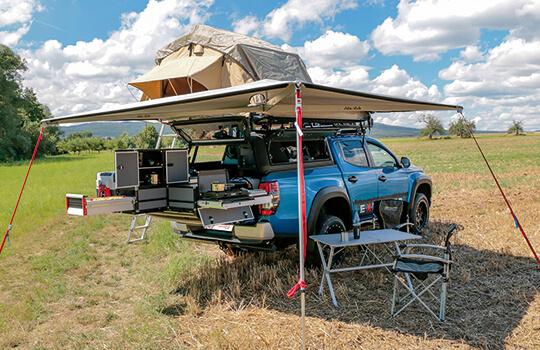 Campingumbau X-Camp für den Mitsubishi L200 2020 - Doppelkabine