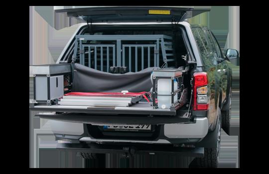 Hundetransport Ausrüstung Mitsubishi L200 2020 - Doppelkabine