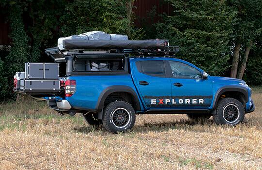 accessori camping pickup