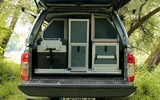 Pickup Camping Mitsubishi L200