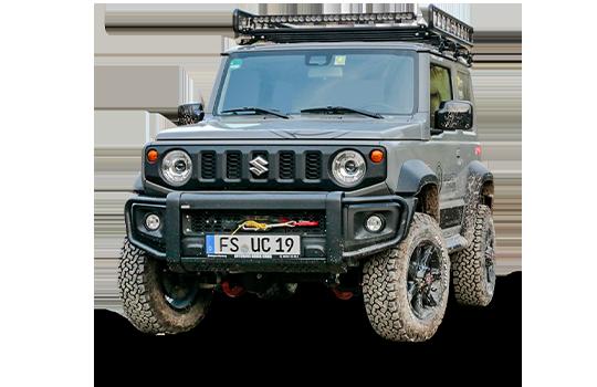 Zubehör Frontschutzbügel für Suzuki Jimny 2018